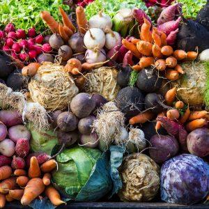 Die Früchte es Herbstes bei Aldi, denn's und EDEKA