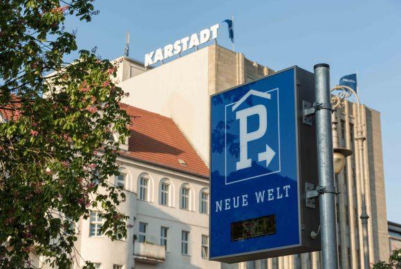 Parkplätze für den Großeinkauf